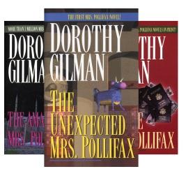Mrs Pollifax Series Books 1 to 7